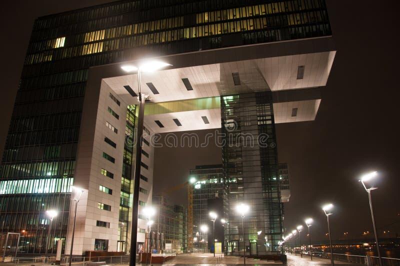 Rheinauhafen in Köln, Deutschland lizenzfreie stockfotografie