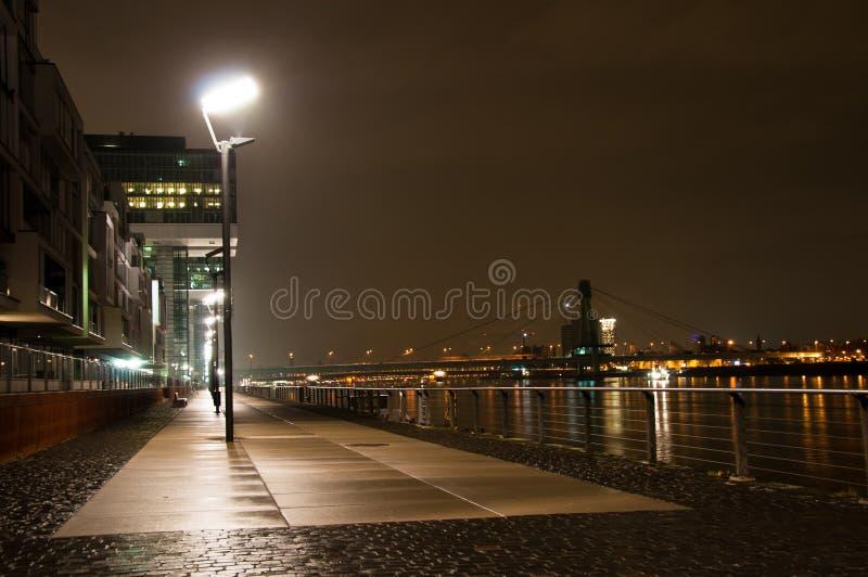 Rheinauhafen in Köln, Deutschland stockfotos