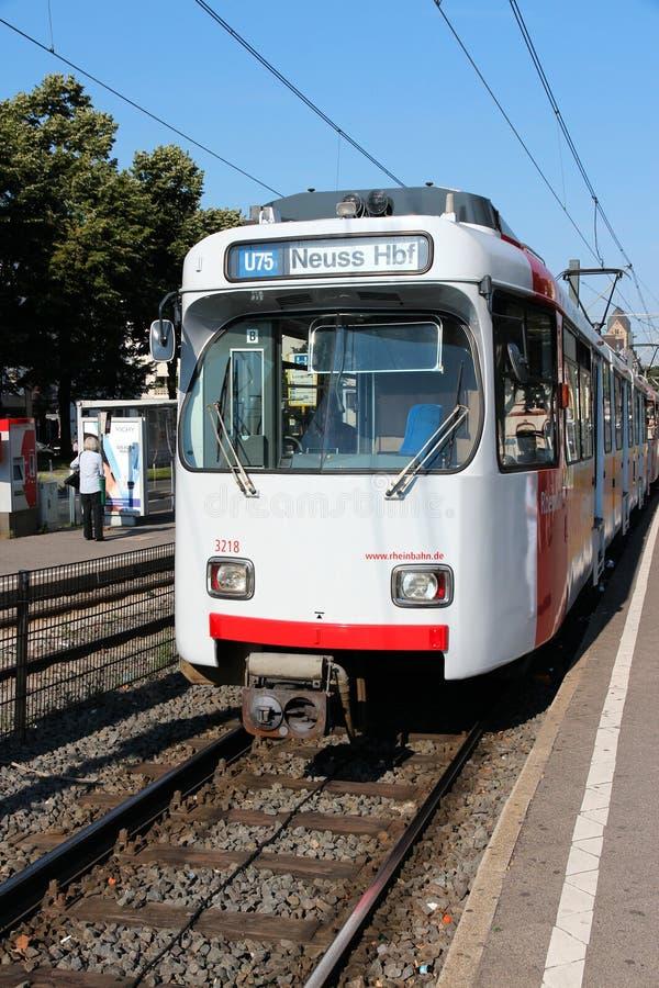 Rheinbahn imagen de archivo