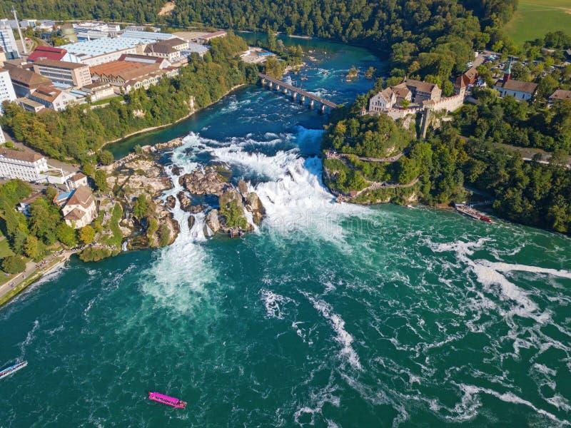 Rheinfall image stock