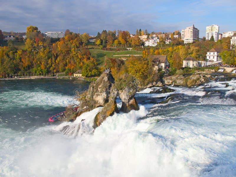 Rheinfall lizenzfreies stockbild