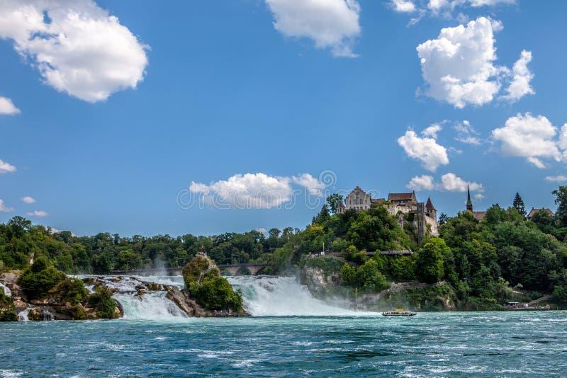 Rheinfall en Suisse images stock