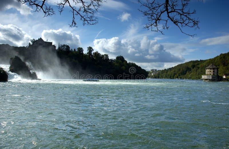 Rheinfalls lizenzfreie stockbilder