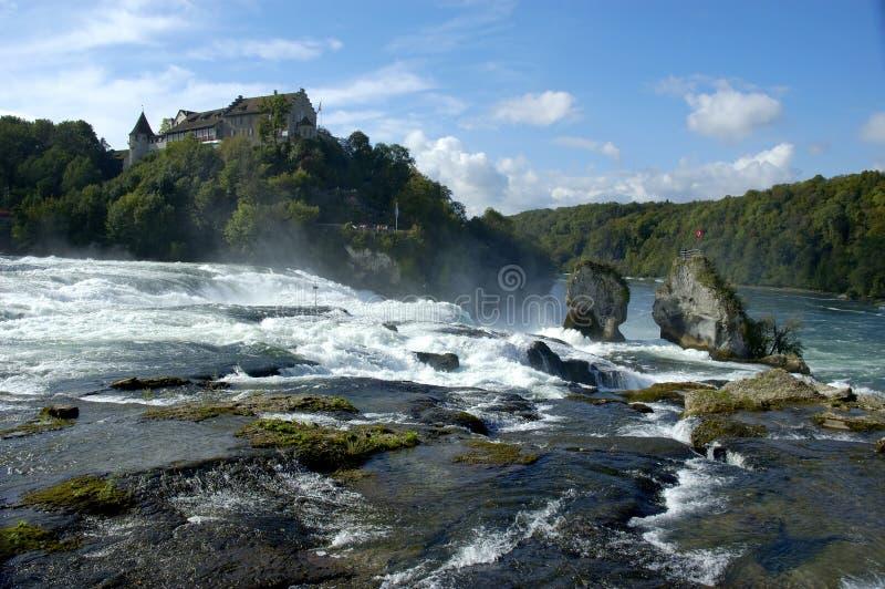Rheinfalls image libre de droits