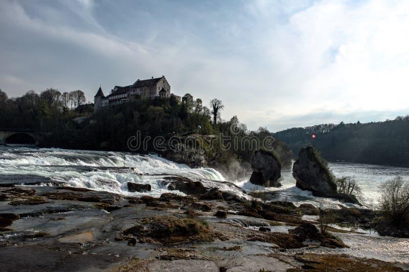 Rheinfalls - Schweiz - bild 1 arkivbilder
