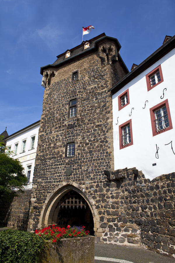 Download Rheintor Gate In Linz Am Rhein In Germany Stock Image - Image: 26334775
