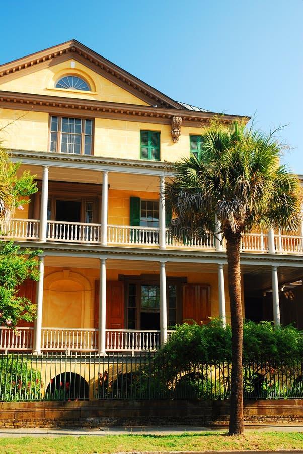Rhett House, Charleston, SC. The Rhett House, in Charleston, South Carolina is one of many historic homes in the city stock photos