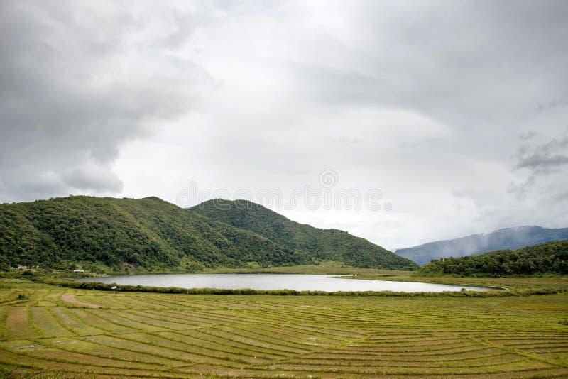 Rhi湖,缅甸(缅甸) 免版税图库摄影