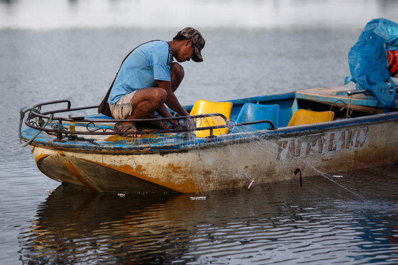 Rhi湖,缅甸(缅甸) 库存照片