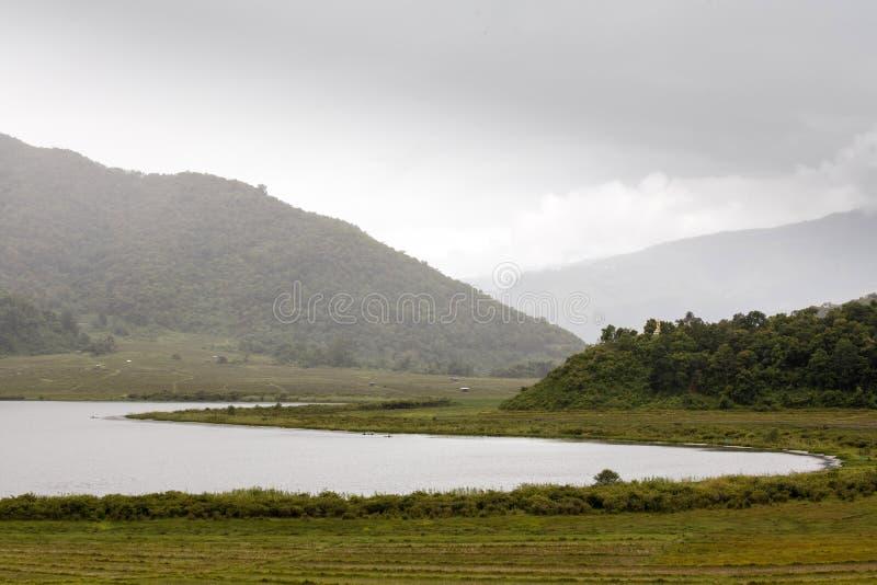 Rhi湖,缅甸(缅甸) 免版税库存图片