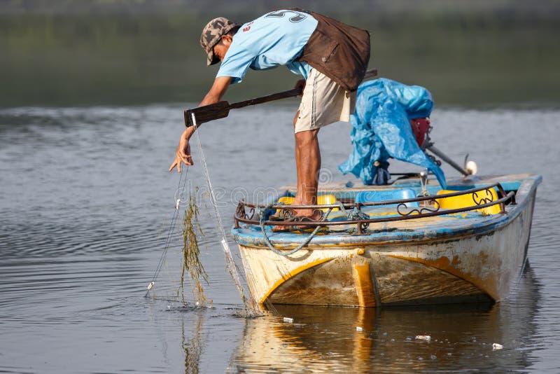 Rhi湖,缅甸(缅甸) 免版税库存照片