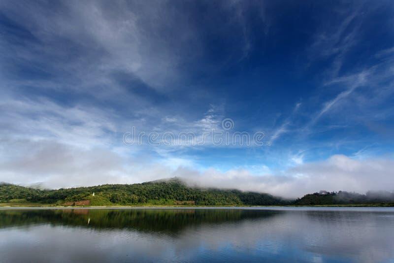 Rhi sjö, Myanmar (Burman) arkivbilder