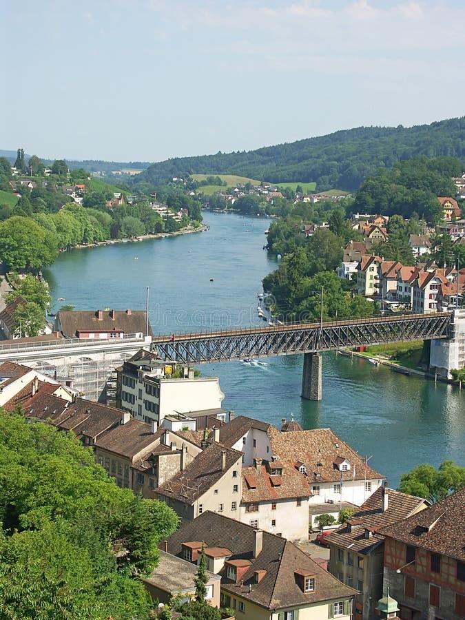 Rhine royalty free stock photos