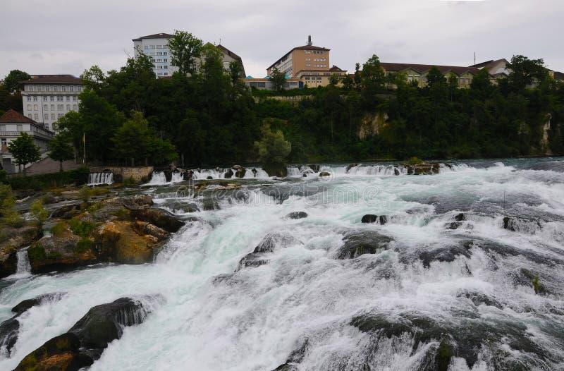 Rhine Falls fotografía de archivo libre de regalías
