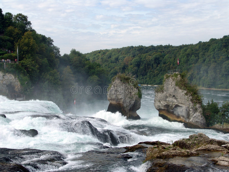 Download Rhine Falls stock photo. Image of river, rocks, spectacular - 518092