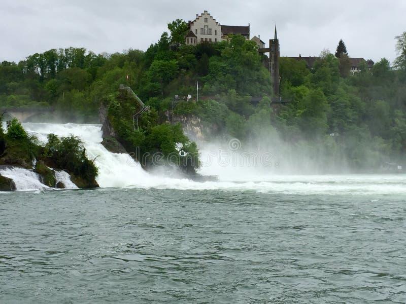 Rhine Falls foto de stock royalty free