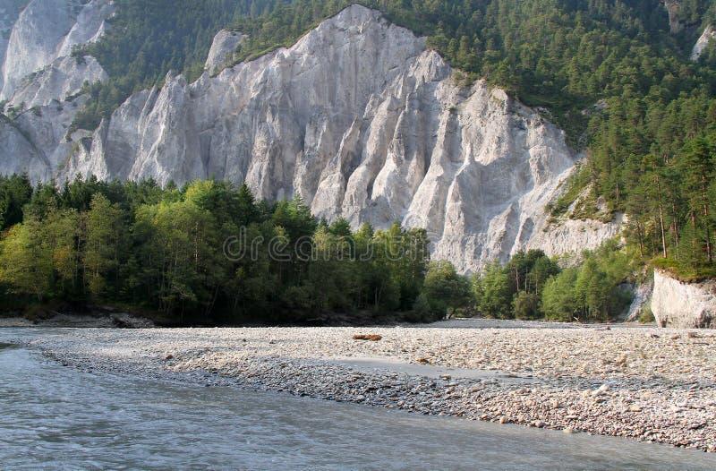 Rhine White Canyon stock images