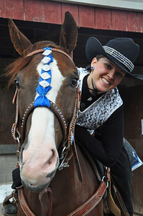 Rhinestone Cowgirl royalty free stock image