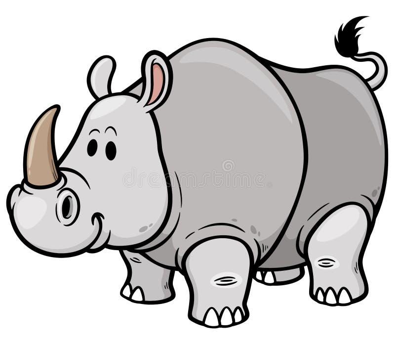rhino vektor abbildung
