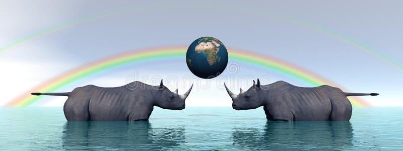 Download Rhinoceros Royalty Free Stock Photo - Image: 26125775