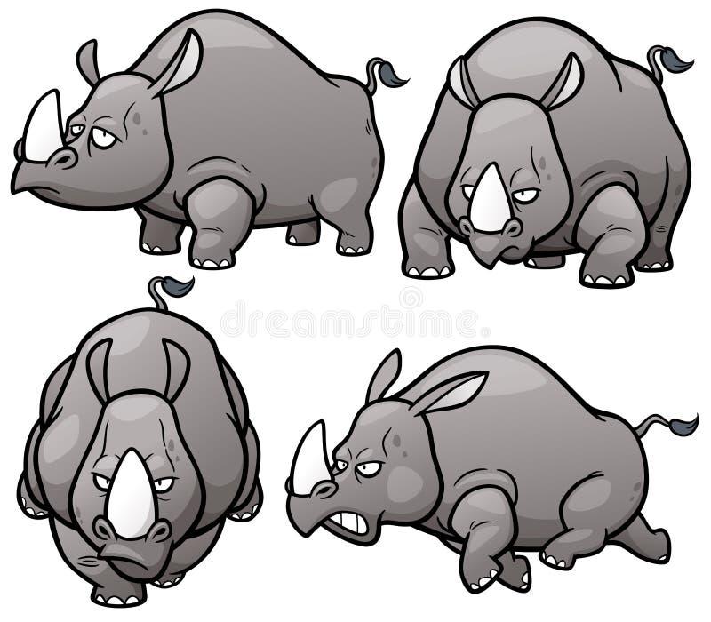 rhinos stock abbildung