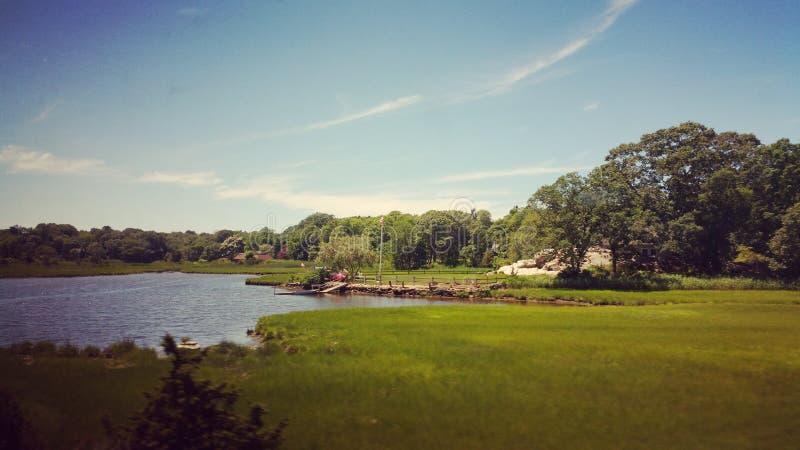 Rhode - ilha em junho foto de stock royalty free