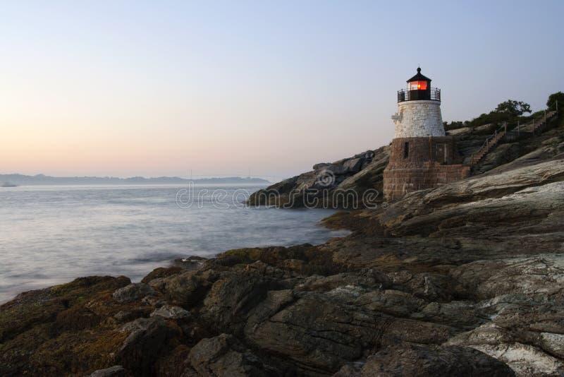 Rhode Island Lighthouse royalty free stock photo
