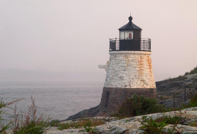 Rhode Island Lighthouse stock image