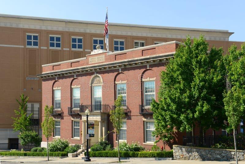 Rhode Island Medical Society Building, Voorzienigheid royalty-vrije stock foto's