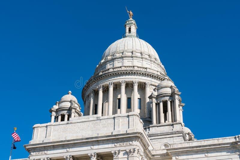 Rhode Island State Capitol Building arkivbild