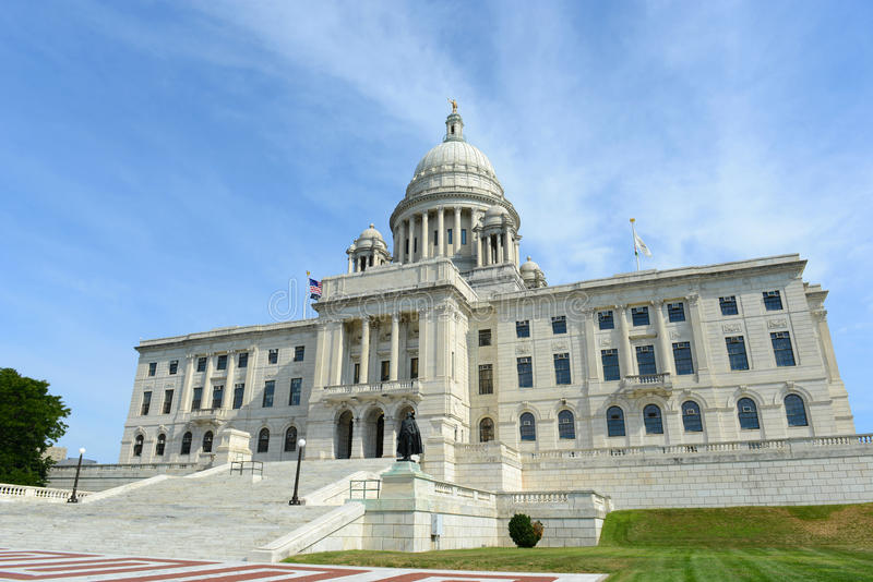 Rhode Island State House, Providence, RI, Etats-Unis image libre de droits