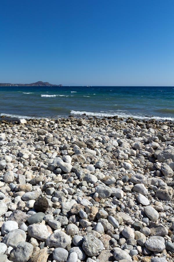 Rhodes Beach royalty-vrije stock afbeeldingen