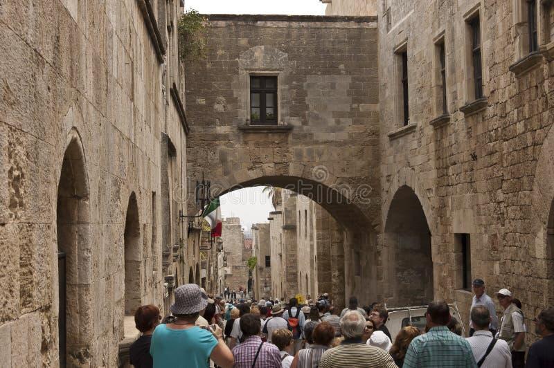 Rhodes Citadel royalty free stock photo
