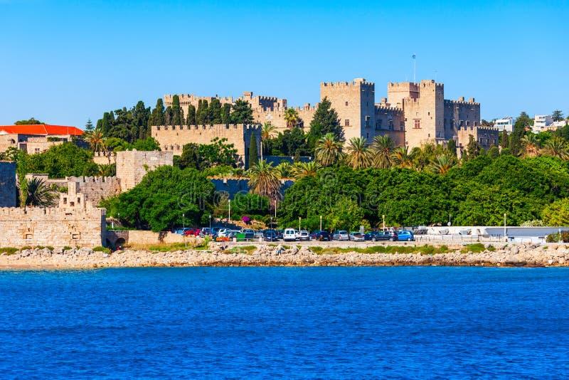 Rhodes gammal stad i Grekland royaltyfri foto