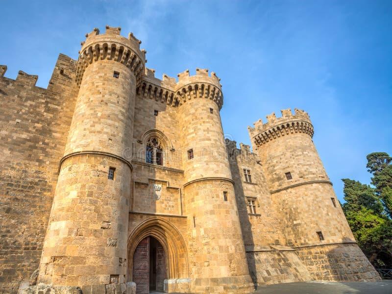Rhodes Grand Masters Palace fotos de stock royalty free