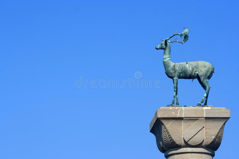 Download Rhodes, Greece stock photo. Image of deer, blue, sculpture - 11530784