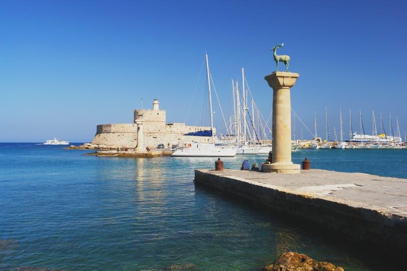 Rhodes Grekland royaltyfri foto