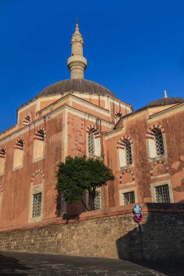 Rhodes Landmark Suleiman Mosque photo stock