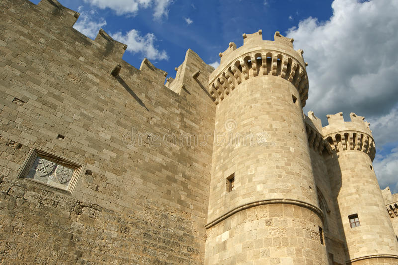 Download Rhodes Medieval Knights Castle (Palace), Greece Stock Photo - Image: 31352510