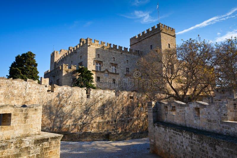 Rhodes Town royaltyfri bild