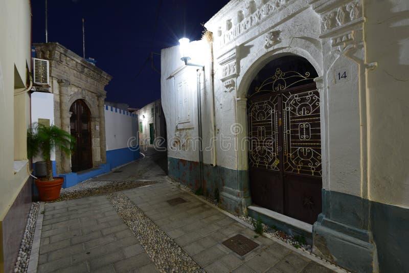 Rhodes, village de Koskinou images libres de droits