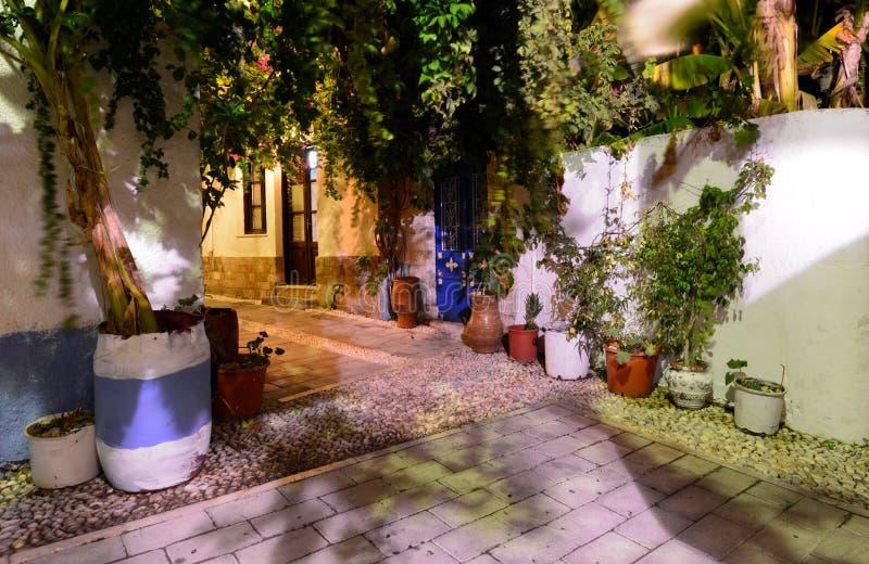 Rhodes, village de Koskinou images stock