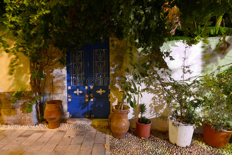 Rhodes, village de Koskinou photo libre de droits