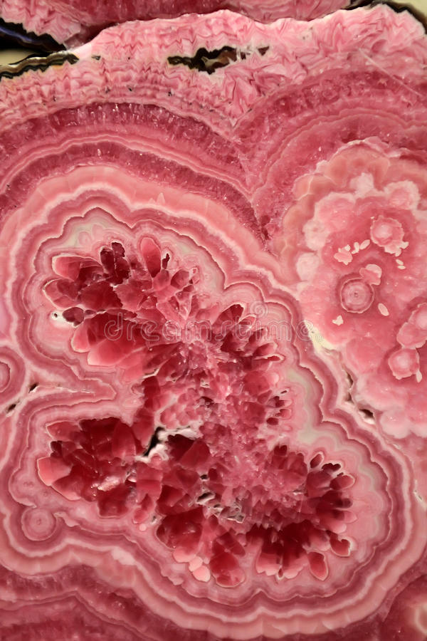 Rhodochrosite royalty free stock photos