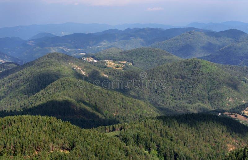 rhodope гор Болгарии стоковая фотография