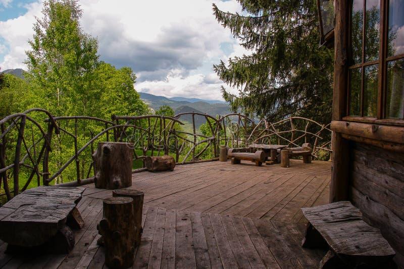 Rhodope Mountain, a fairy tale. stock photos