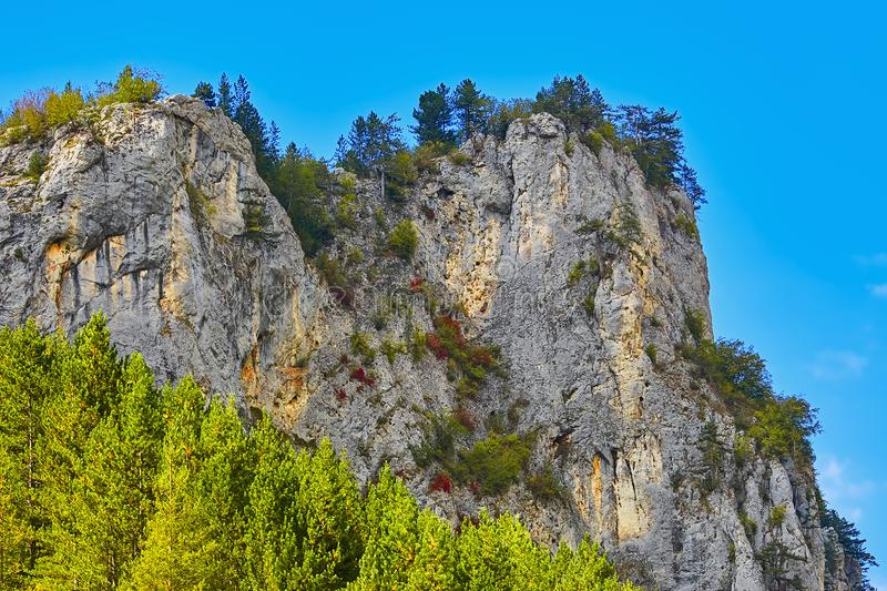 Rhodope Mountains in Bulgaria. Rhodope Mountains in Southern Bulgaria, Southeastern Europe royalty free stock photography