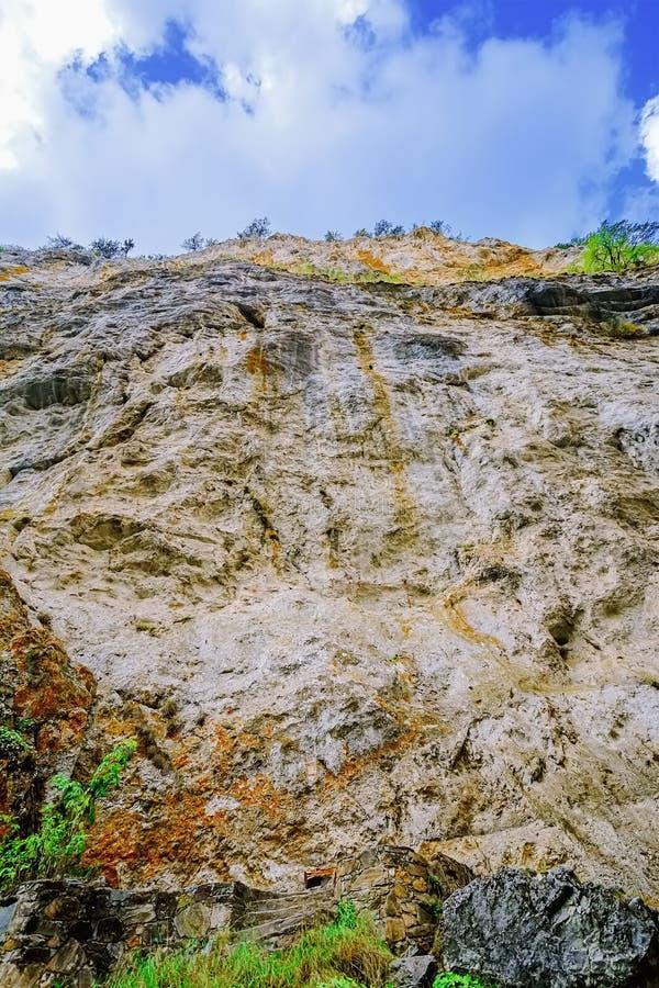 Rhodope Mountains in Bulgaria. Trigrad Gorge, Rhodope Mountains in Southern Bulgaria, Southeastern Europe stock image