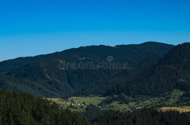 the Rhodope mountains royalty free stock photography