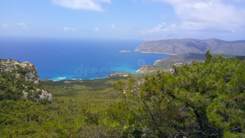 Rhodos - Beautiful Outlook royalty free stock photography